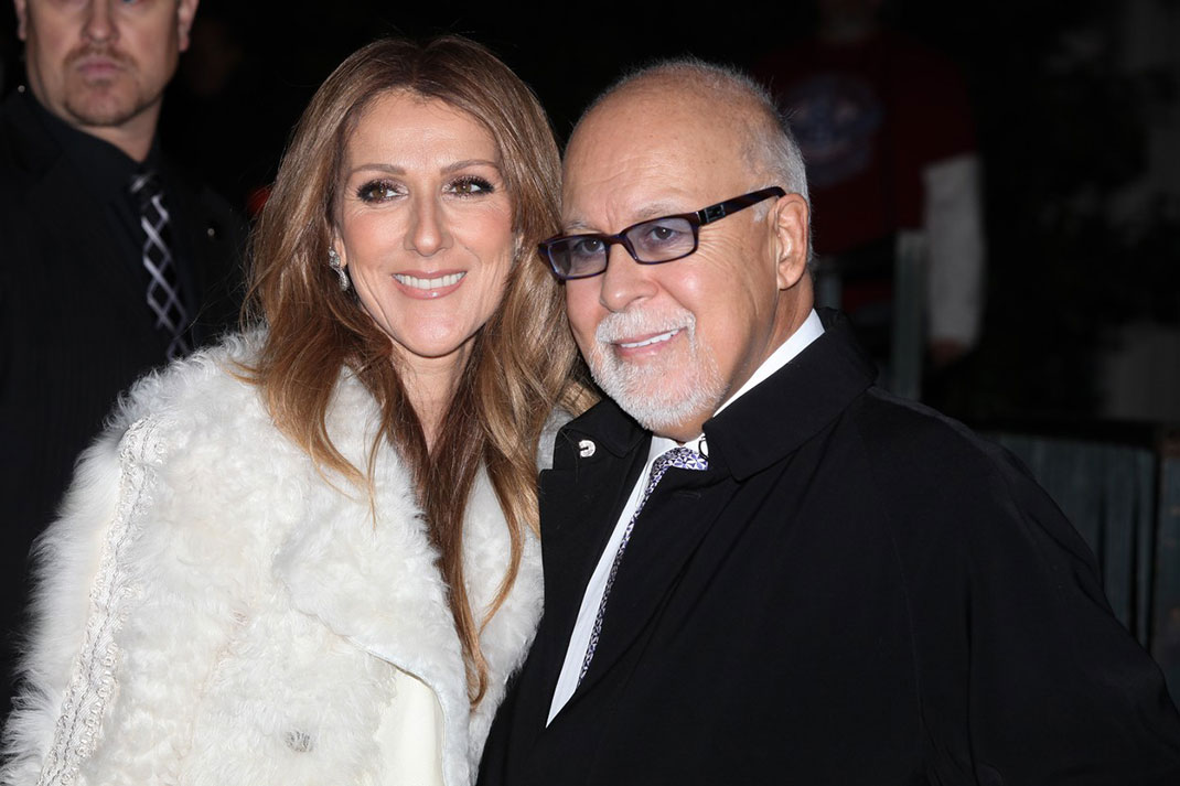Celine Dion in Rene Angelil