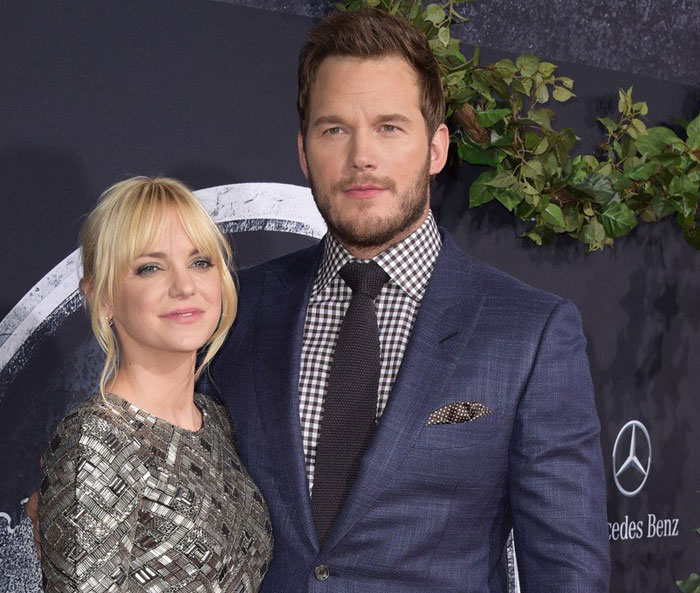 Anna Faris in Chris Pratt